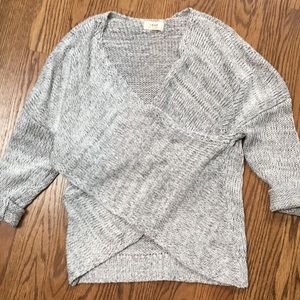 Sweaters - Cross front sweater. S.